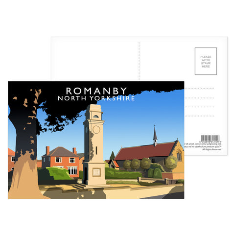 Romanby, North Yorkshire Postcard Pack