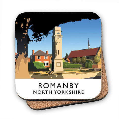 Romanby, North Yorkshire MDF Coaster