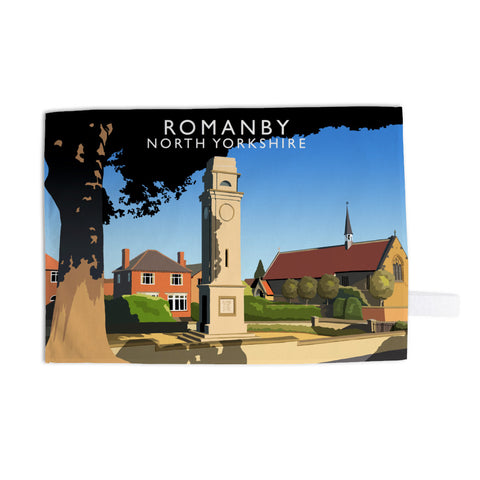 Romanby, North Yorkshire Tea Towel