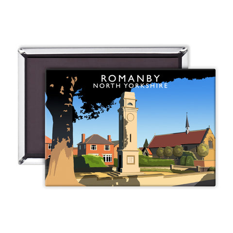 Romanby, North Yorkshire Magnet