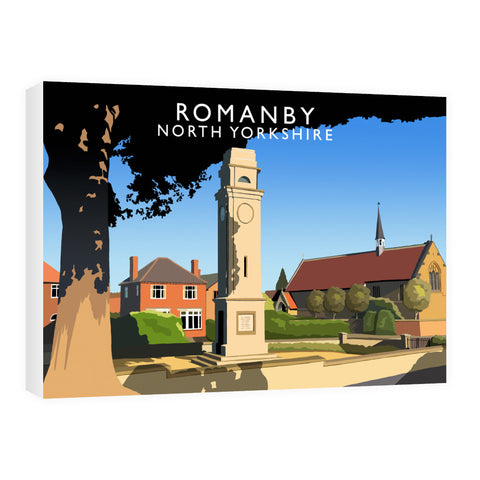 Romanby, North Yorkshire 60cm x 80cm Canvas