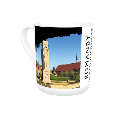 Romanby, North Yorkshire Bone China Mug