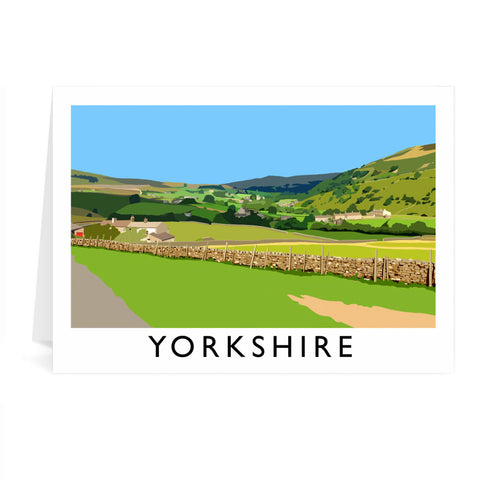 Yorkshire Greeting Card 7x5