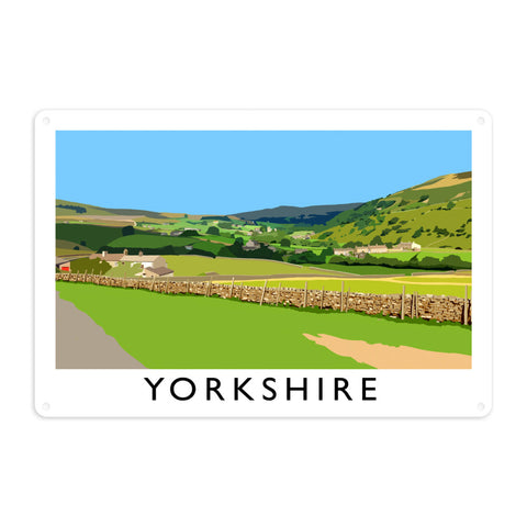 Yorkshire Metal Sign