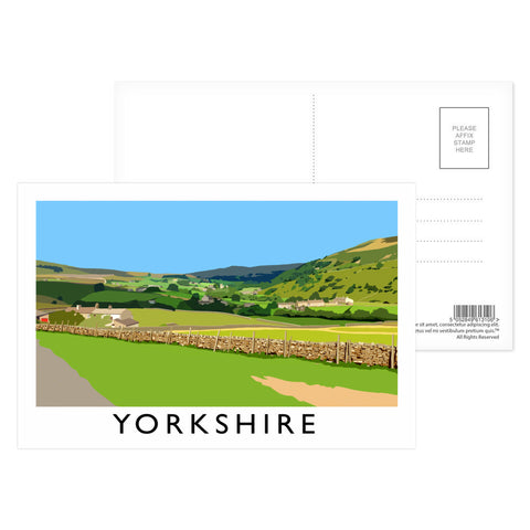 Yorkshire Postcard Pack