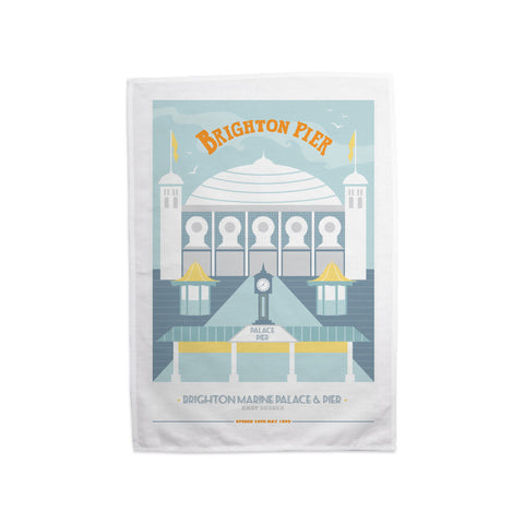 Brighton Pier, Brighton Tea Towel