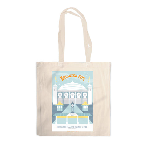 Brighton Pier, Brighton Canvas Tote Bag