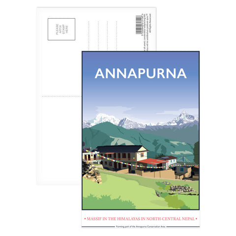 Annapurna, The Himalayas Postcard Pack