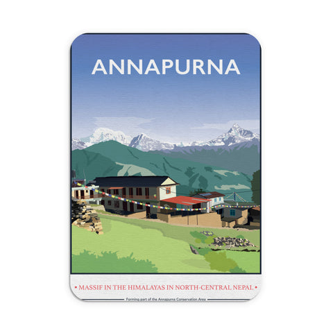 Annapurna, The Himalayas Mouse mat