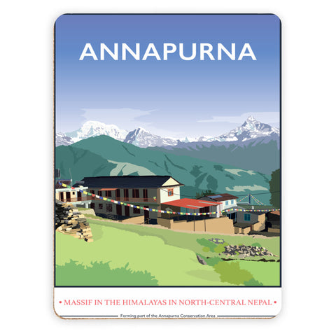 Annapurna, The Himalayas Placemat