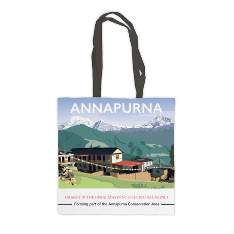 Annapurna, The Himalayas Premium Tote Bag