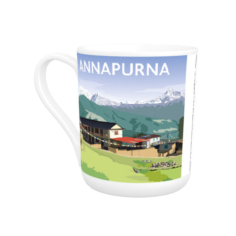 Annapurna, The Himalayas Bone China Mug