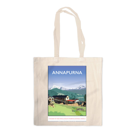 Annapurna, The Himalayas Canvas Tote Bag