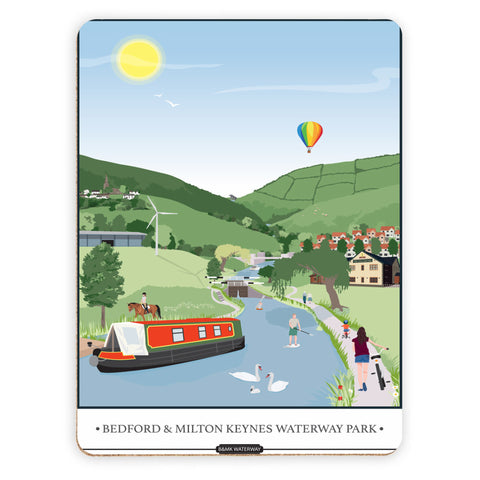 Bedford and Milton Keynes Waterway Park, Placemat