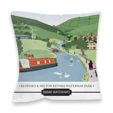 Bedford and Milton Keynes Waterway Park, Fibre Filled Cushion