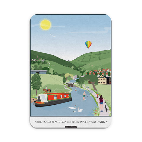 Bedford and Milton Keynes Waterway Park, Mouse mat