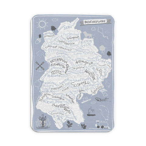 County Map of Bedfordshire, Mouse mat