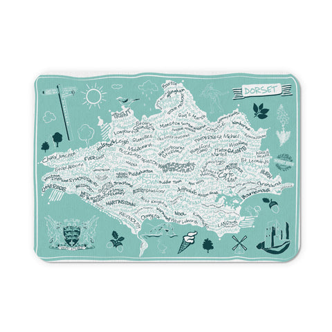 County Map of Dorset, Mouse mat