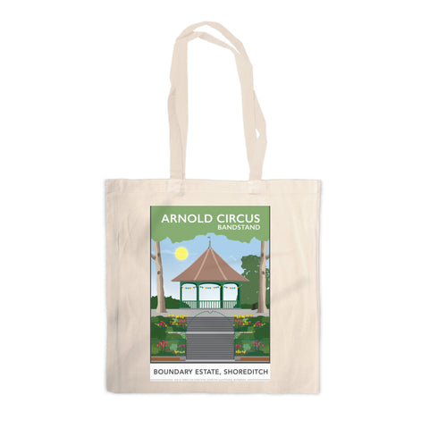 Arnold Circus Bandstand, Shoreditch, London Canvas Tote Bag