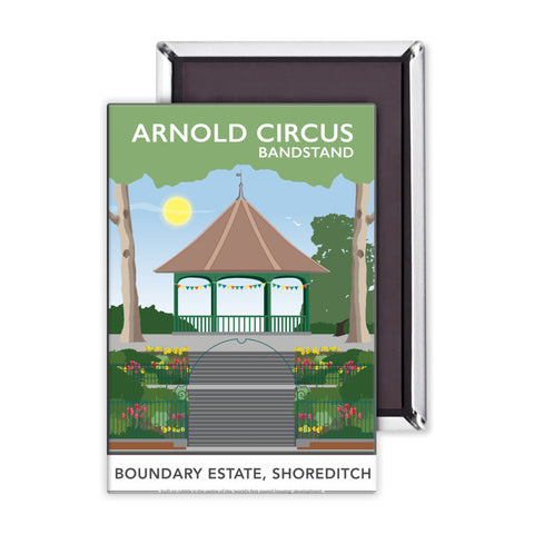 Arnold Circus Bandstand, Shoreditch, London Magnet