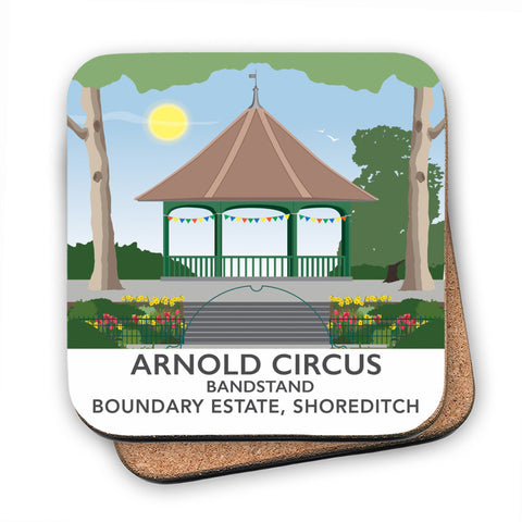 Arnold Circus Bandstand, Shoreditch, London MDF Coaster