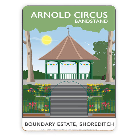 Arnold Circus Bandstand, Shoreditch, London Placemat