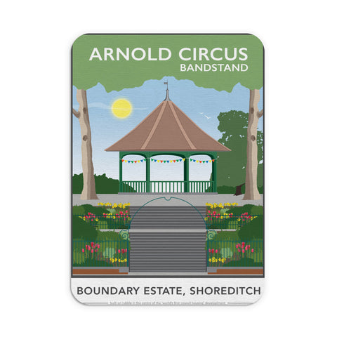 Arnold Circus Bandstand, Shoreditch, London Mouse mat