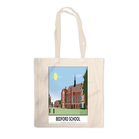 Bedford School, Bedfordshire Canvas Tote Bag