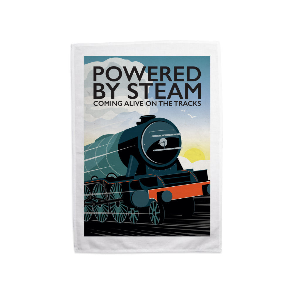 Powered By Steam, Tea Towel