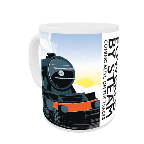 Powered By Steam, Mug