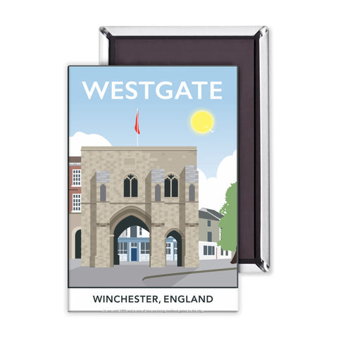 Westgate, Winchester, Hampshire Magnet