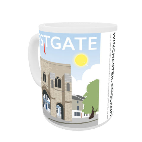 Westgate, Winchester, Hampshire Coloured Insert Mug