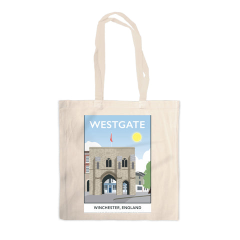 Westgate, Winchester, Hampshire Canvas Tote Bag