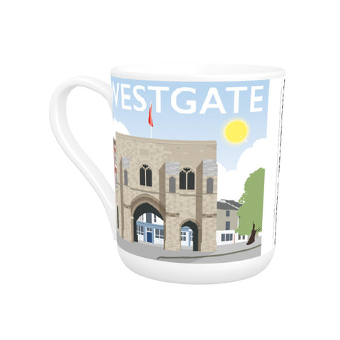 Westgate, Winchester, Hampshire Bone China Mug