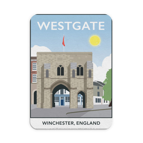 Westgate, Winchester, Hampshire Mouse mat