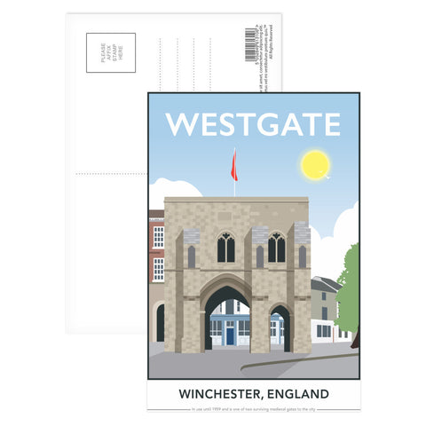 Westgate, Winchester, Hampshire Postcard Pack