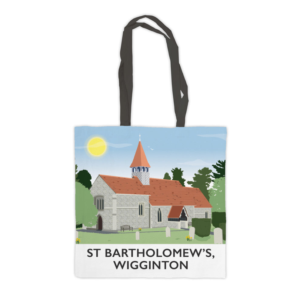 St Bartholomews Church, Wiggington, Hertfordshire Premium Tote Bag