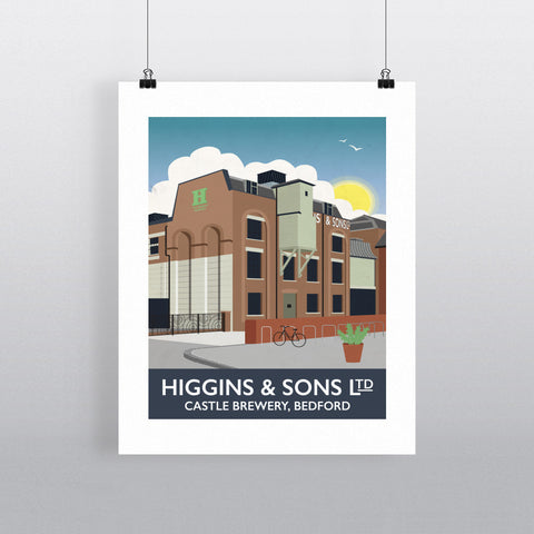 Higgins and Sons, Bedford 90x120cm Fine Art Print