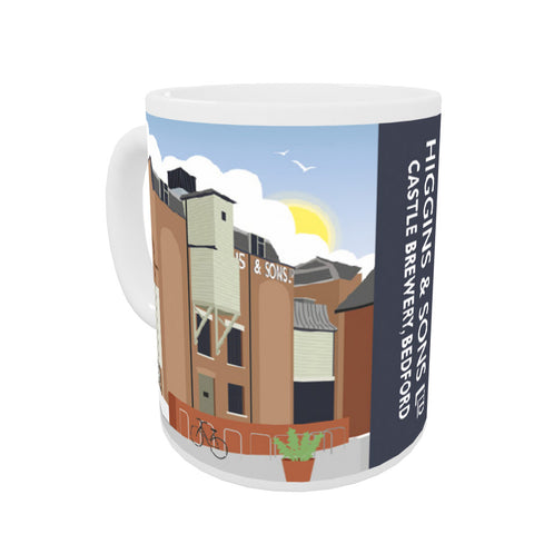Higgins and Sons, Bedford Coloured Insert Mug