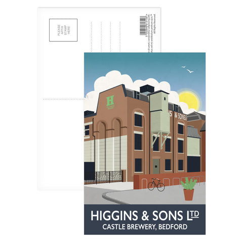 Higgins and Sons, Bedford Postcard Pack