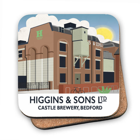 Higgins and Sons, Bedford MDF Coaster