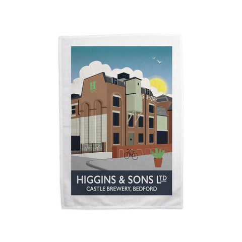 Higgins and Sons, Bedford Tea Towel