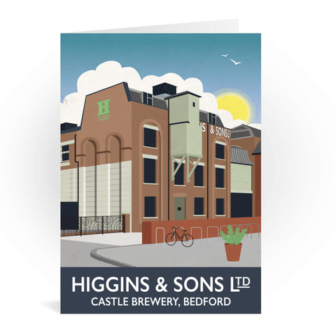 Higgins and Sons, Bedford Greeting Card 7x5