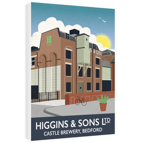 Higgins and Sons, Bedford 60cm x 80cm Canvas