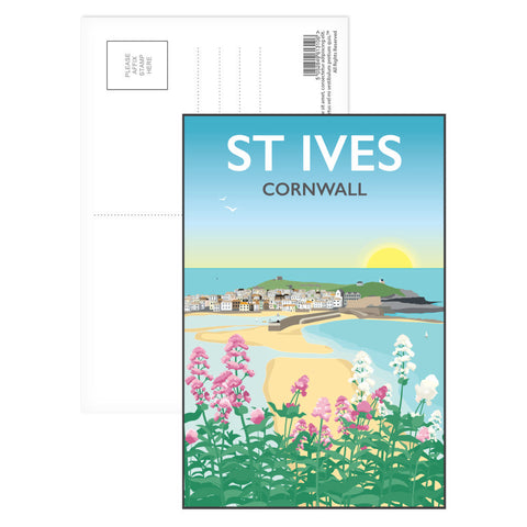St Ives, Cornwall Postcard Pack