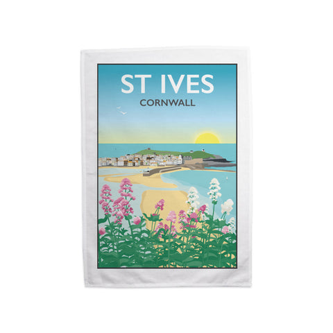 St Ives, Cornwall Tea Towel