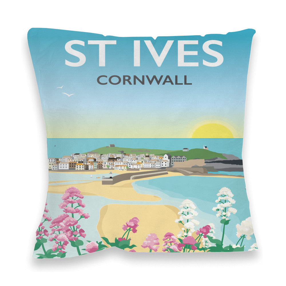 St Ives, Cornwall Fibre Filled Cushion