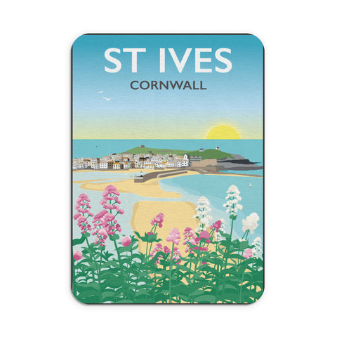 St Ives, Cornwall Mouse mat