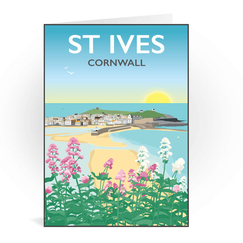 St Ives, Cornwall Greeting Card 7x5