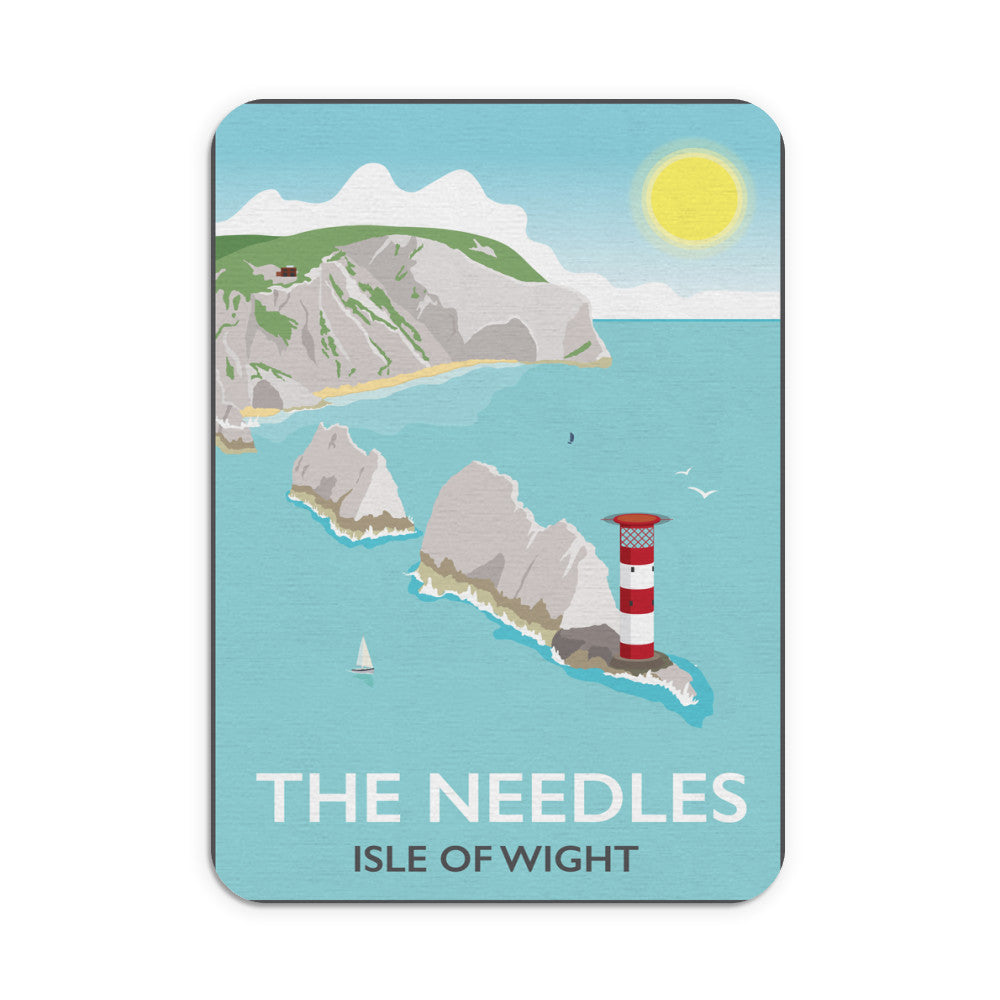 The Needles, Isle of Wight Mouse mat